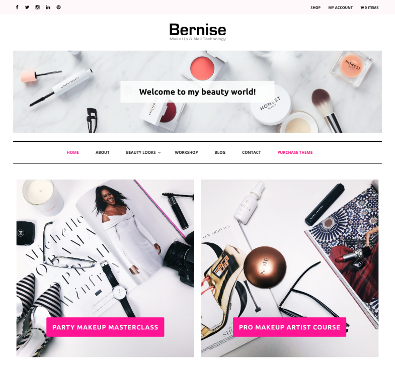 Bernise WordPress Theme