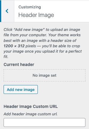 Header Image URL